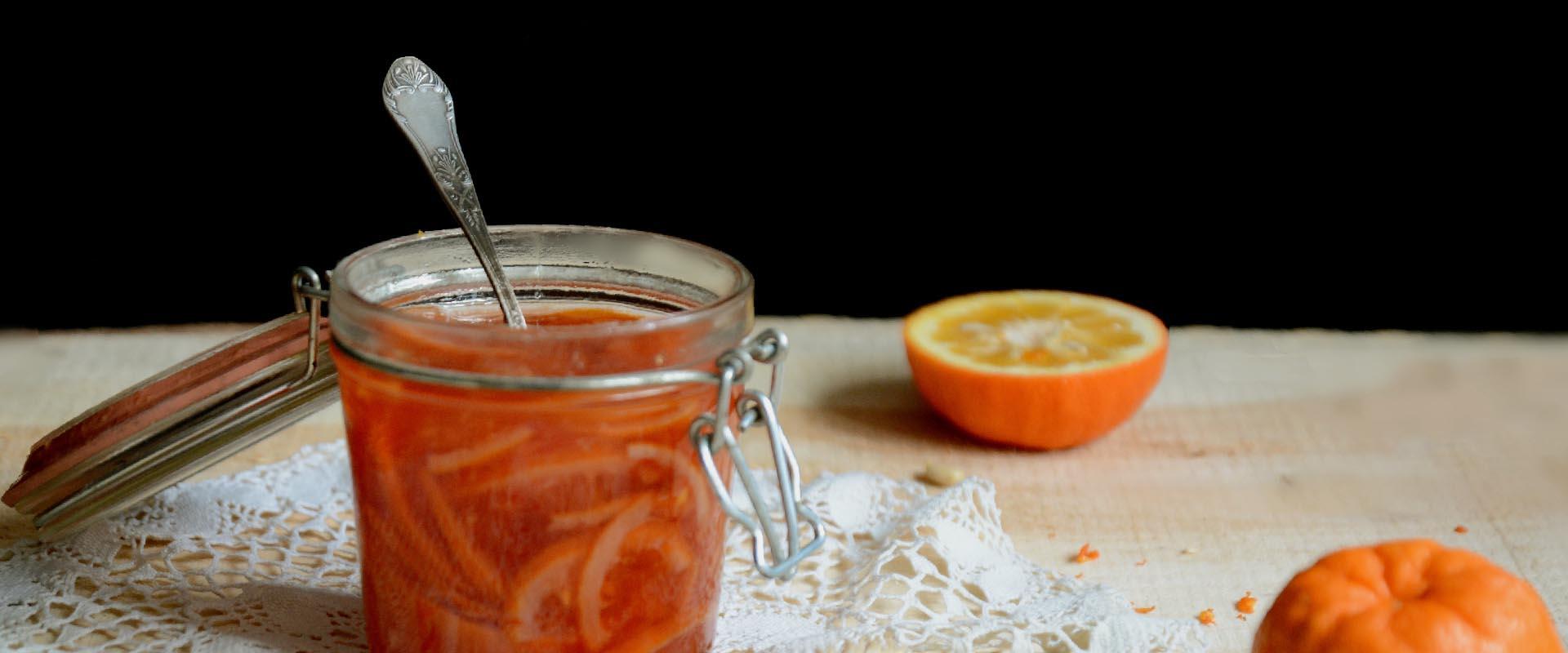 Marmellata di arance amare e mele