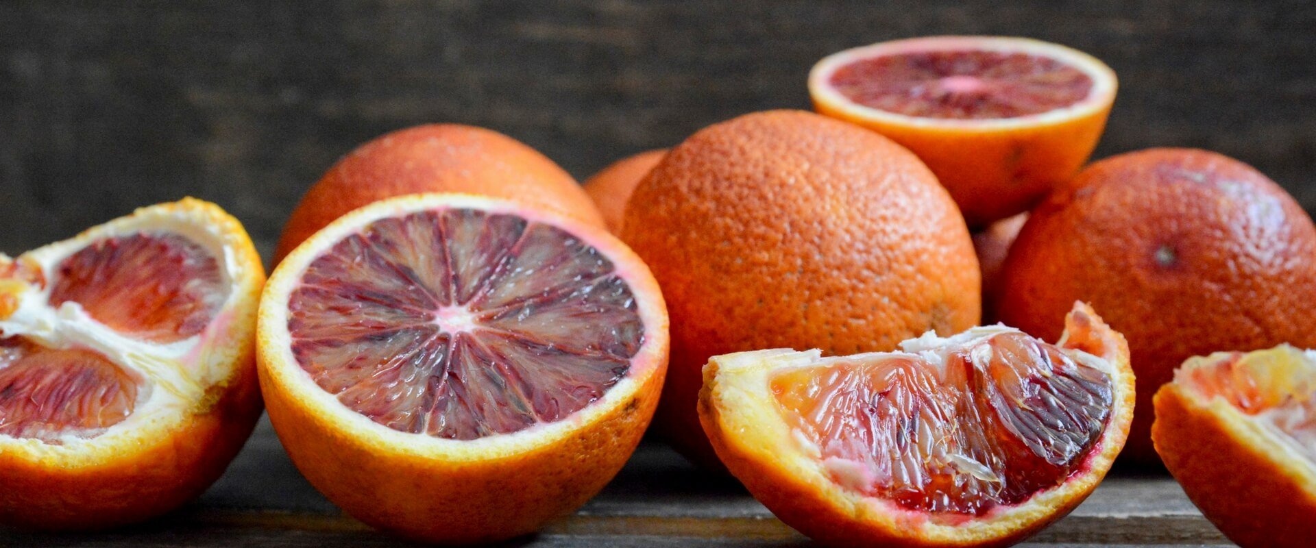 Una spremuta di arancia rossa!