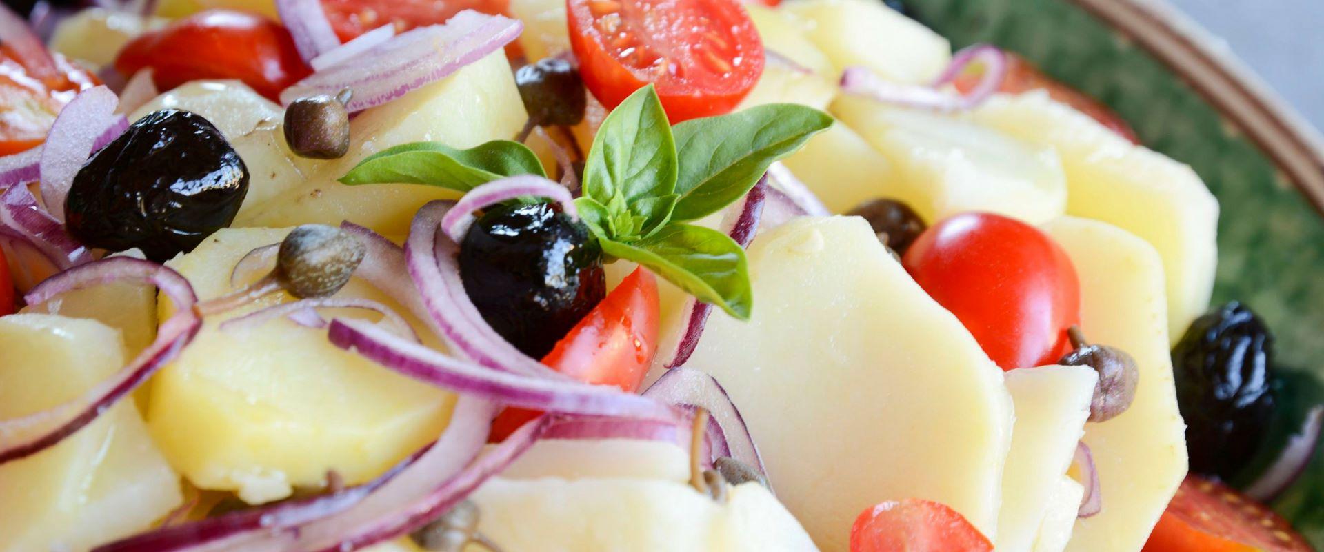 Warzywna sałatka Pantesca