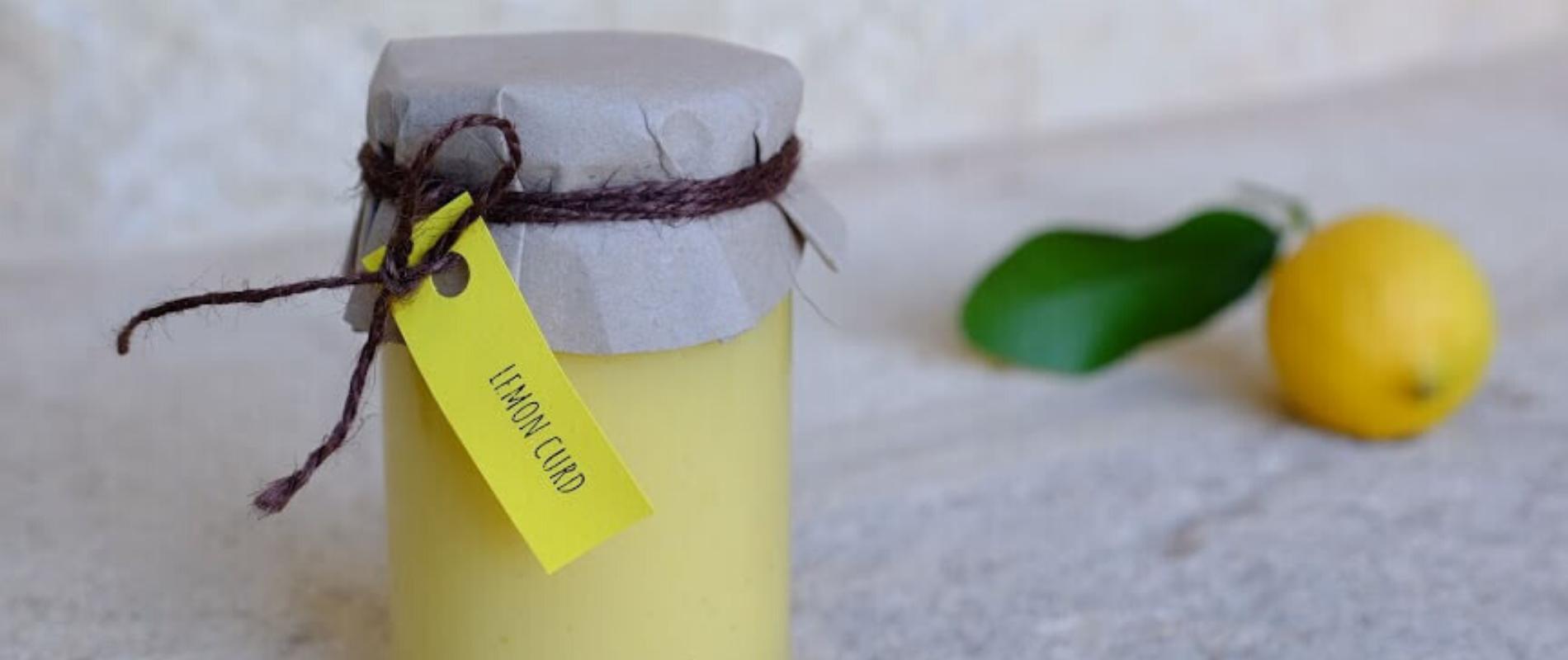 Lemon curd – cytrynowa słodycz zamknięta w słoiczku